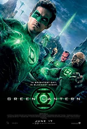 Green Lantern 27x40 Original Movie Poster Double Sided
