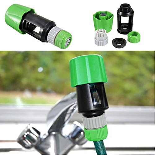 Universal Hose Tap Pipe Connector Mixer Garden Watering Equipment Tool (Brass Washing Machine Y Piece compare prices)