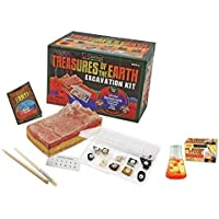Treasures Of The Earth Excavation Kits And Lava In A Bottle Kit, 2 Pack