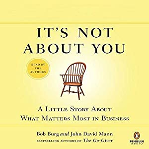 It's Not About You Audiobook