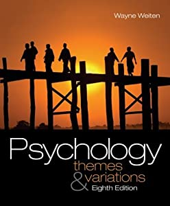 Psychology: Themes and Variations 8th Edition (Book Only) Hardcover