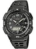 Casio - AQ-S800W-1BVEF - Montre Homme - Quartz Analogique et Digital - Cadran Noir - Bracelet Résine Noir