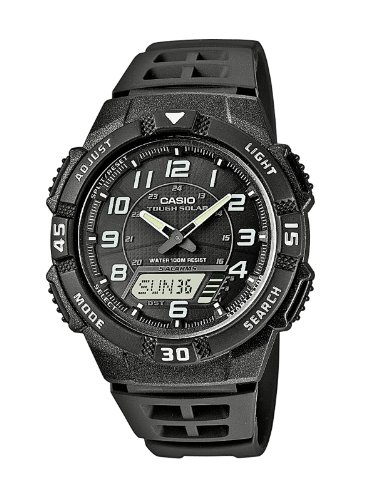 Casio Collection Men's Solar Collection Analogue-Digital Quartz Watch AQ-S800W-1BVEF