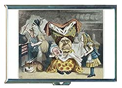 Alice in Wonderland Dutchess Baby Stainless Steel ID or Cigarettes Case (King Size or 100mm)