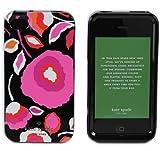 Kate Spade ケイトスペード iPhone4/4S 専用ケース ハードカバー SAFI FLORAL フラワーモチーフ ブラック/マルチカラー PSRU0779 974 MULTI[並行輸入品]