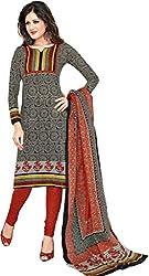 Komal arts Ethnicwear Women's Dress Material(Komal arts_SHREE4654_Grey_Free Size)