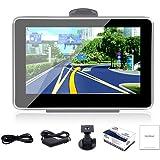 """YHC 4.3"""" 4GB 128MB FM Touch Screen Car Navigation GPS SAT NAV Free Maps OX#DN"""