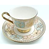Pce Tableware Serving Gold Coffee -Tea Cups Saucer Set 12 Pcs