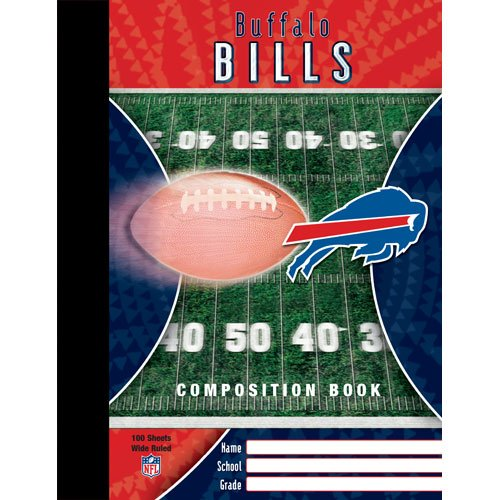 Buffalo Bills NFL Composition Book at Amazon.com