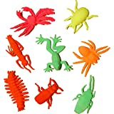 Dazzling Toys Grow-an-insect Toy Figures - (4 Dozen) Perfect to Drop in Goody Bags At a Party, Assorted Colors and Styles