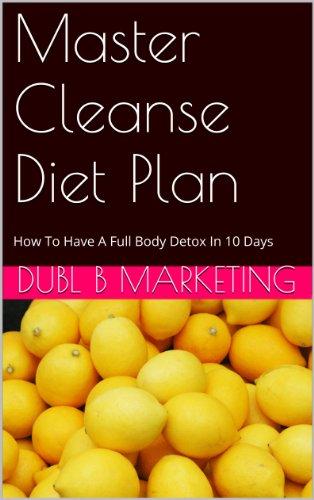master cleanse diät plan