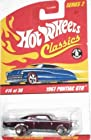 Classics Series 2 -#14 1967 Pontiac GTO Purple 5-Spoke Redlines Mattel Hot Wheels 1:64 Scale Collectible Die Cast Car