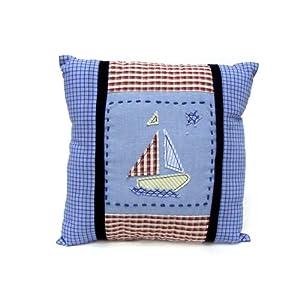 Amazon.com : Nautica Baby Skipper Decorative Pillow : Nursery Pillows : Baby