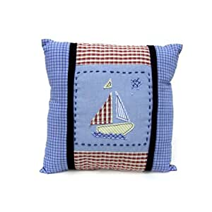 Decorative Pillows For Baby Room : Amazon.com : Nautica Baby Skipper Decorative Pillow : Nursery Pillows : Baby