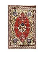 L'Eden del Tappeto Alfombra Gabbeh Rojo / Multicolor 110 x 168 cm