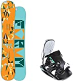 Forum Craft 149 Ladies Snowboard + Flow Haylo Black Bindings - Fits Boot Sizes: 6,7,8 by Forum Novelties
