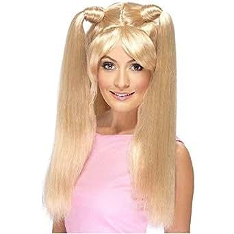 Smiffy's Baby Power Blonde Wig with Pony Tails