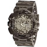 Casio Men's G-Shock GA100CM-8A Gray Plastic Quartz Watch