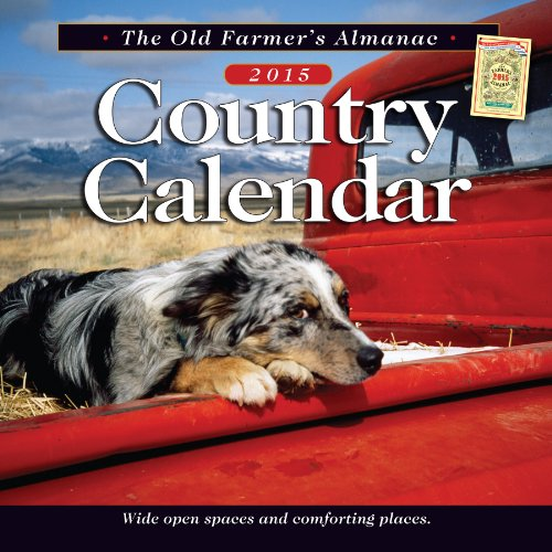 The Old Farmer's Almanac 2015 Country Calendar