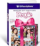 img - for Giftscriptions Magazine Gift Certificate: People book / textbook / text book