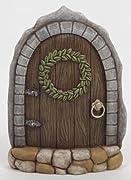 Ganz Fantasy Fairy Garden Door, Polystone