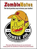 Zombie Notes BCLS Certification Exam Preparation (laminated card)