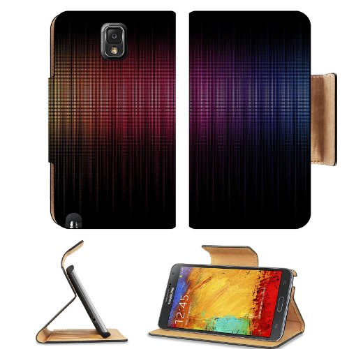 Pattern Colourful Spectrum Samsung Galaxy Note 3 N9000 Flip Case Stand Magnetic Cover Open Ports Customized Made To Order Support Ready Premium Deluxe Pu Leather 5 15/16 Inch (150Mm) X 3 1/2 Inch (89Mm) X 9/16 Inch (14Mm) Liil Note Cover Professional Note front-442491