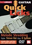 Lick Library: Quick Licks For Guitar...
