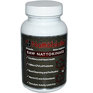 Arthur Andrew Medical Nattobiotic Capsules, 90 Count