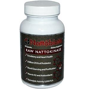 Arthur Andrew Medical Nattobiotic Capsules, 90 Count