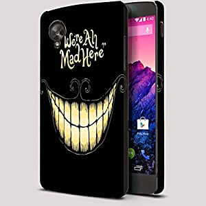 Theskinmantra We are all mad here Nexus 5 Full Body Case