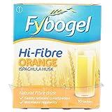 4 x Fybogel Hi-Fibre Orange Natural Fibre Drink 10 Sachets