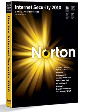 Norton Internet Security 2010 1 user