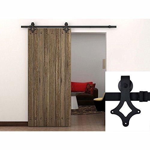 hahaemall-198-meters-19812-cm-78-interno-del-paese-in-acciaio-colore-nero-effetto-legno-per-porta-sc