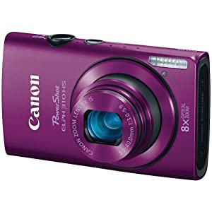 Canon PowerShot ELPH 310 HS 12.1 MP CMOS Digital Camera with Full 1080p HD Video (Purple)