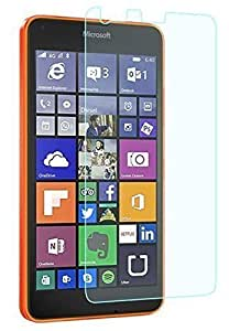 Alphabet technology,s premium quality scratch proof ' bubble free tempered glass for Microsoft Lumia 640