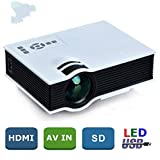 LEJIADA® Portable uc40 Mini 3D Home Theater Projector LED projector Video HD 720P 1080P Projector Beamer Home Theater Cinema AV TV VGA HDMI Projector