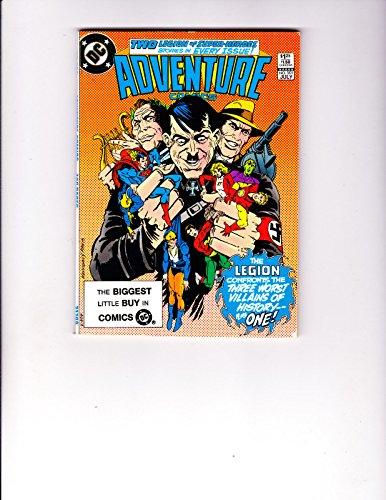 [Adventure Comics 501 Legion of Super-Heroes Battle the Three Worst Villians] (Superheros And Villians)