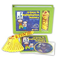 Learning Wrap-ups, 10 Days to Multplication Mastery Boxed Set