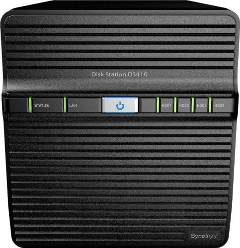 Synology DS410 4 Bay - No HDD - NAS Enclosure (No HDD Installed)