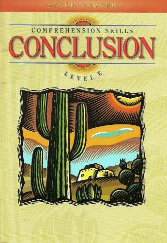 Comprehension Skills - Conclusion: Level E PDF