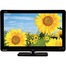 Sharp AQUOS LC32LS510UT 32-Inch 1080p Edge Lit LED TV, Black