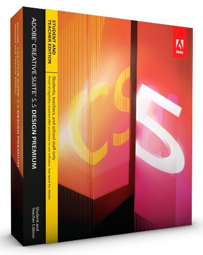Adobe CS5.5 Design Premium Student and Teacher Edition