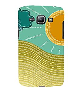 Sunshine Design 3D Hard Polycarbonate Designer Back Case Cover for Samsung Galaxy J1 (2016) :: Samsung Galaxy J1 (2016) J120H