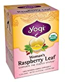 Yogi Woman's Raspberry Leaf, Herbal Tea Supplement, 16-Count Tea Bags (Pack of 6)