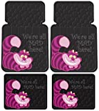 Cheshire Cat We're all MAD here! Floor Mats