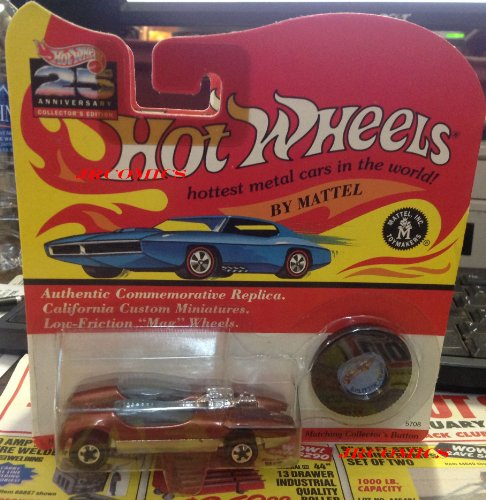 Hot Wheels 25th Anniversary California Custom Miniatures Splittin Image - 1