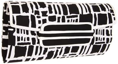 Magid Graphic print E7007 Clutch,Black/White,One Size