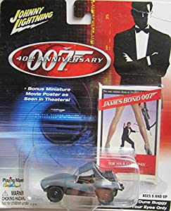 Johnny Lightning - 007 DUNE BUGGY - FOR YOUR EYES ONLY- Limited Edition -