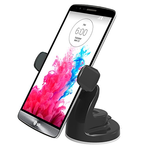 iOttie Easy View 2 Car Mount Holder for iPhone 6 (4.7)/Plus (5.5) /5s/5c, Samsung Galaxy S6/S6 Edge/S5/S4/Note 4/3, LG G3, Google Nexus 5 -Retail Packaging -Black